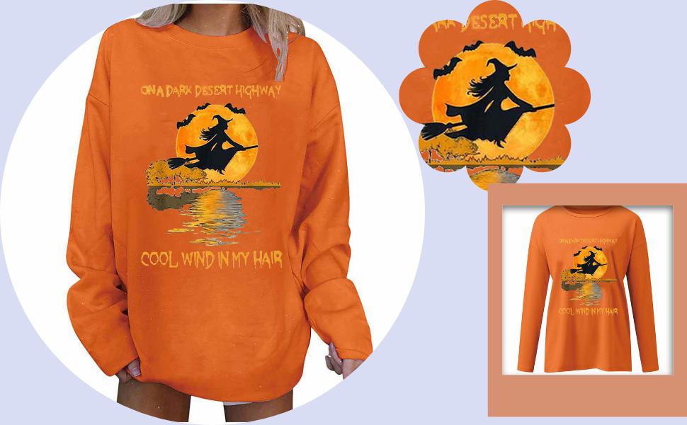 on a dark desert highway witch shirt