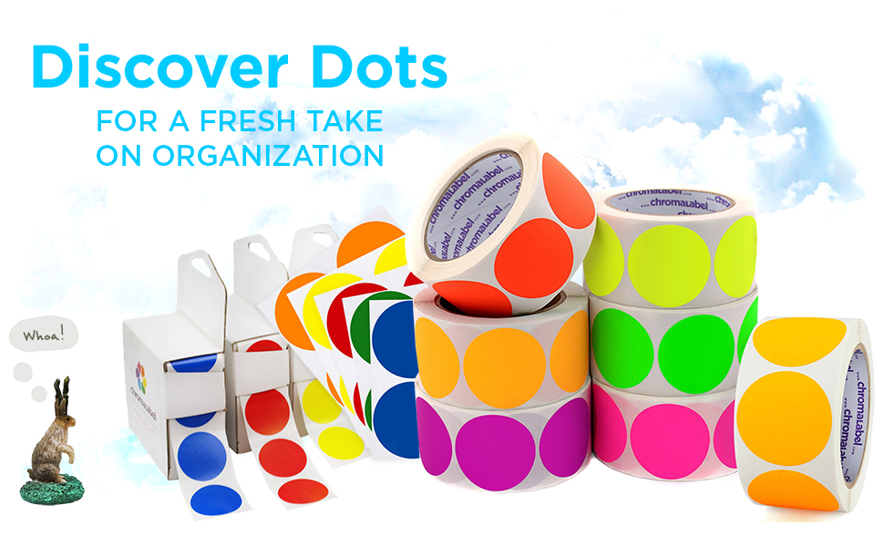 Discover chromalabel dots for a fresh take on organization