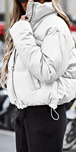 Down Jacket Short Puffer Coat