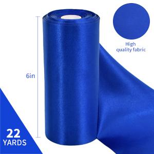 6 inch ribbon, 22 yards