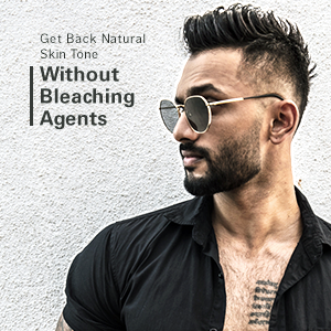 Get back natural skin tone without Bleaching Agents