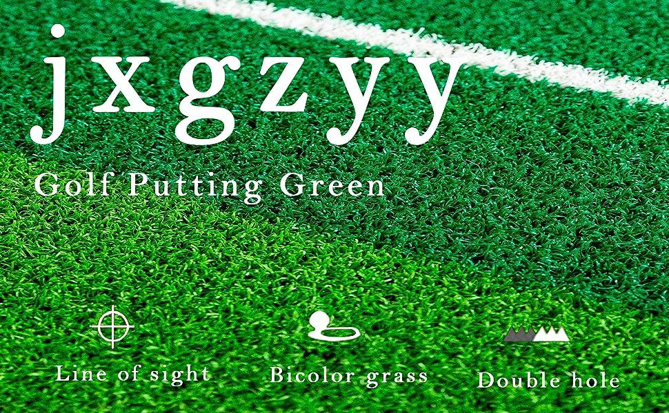 Golf pulling mat