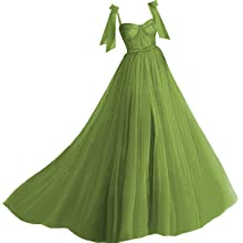 Olive Ball Gown