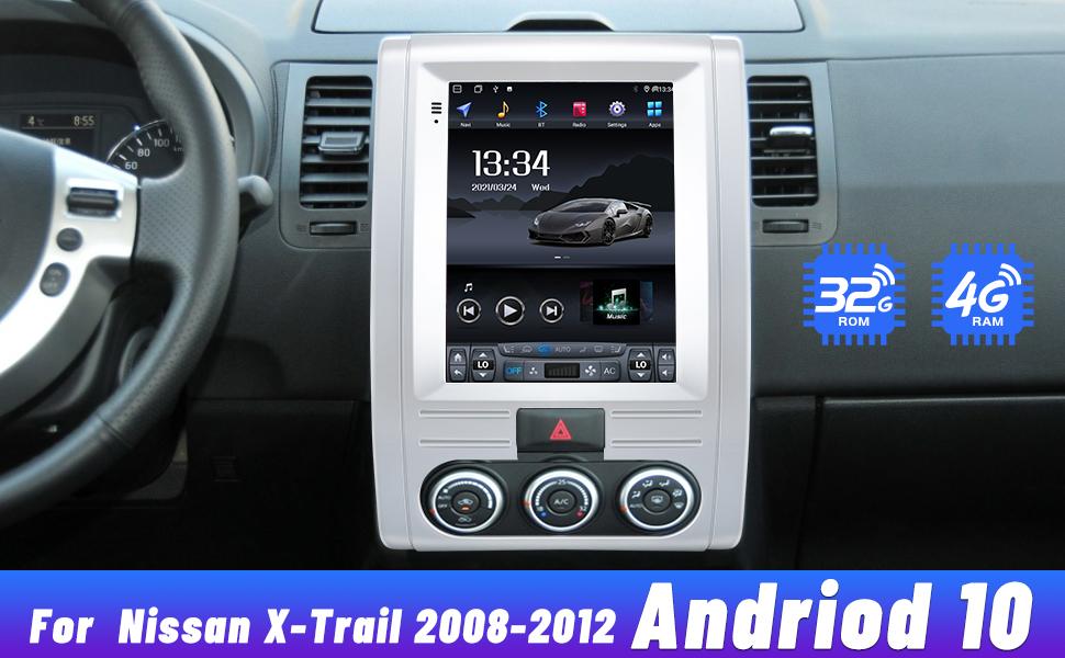 Nissan X-Trail radio