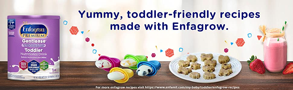 snacks created with toddler formula