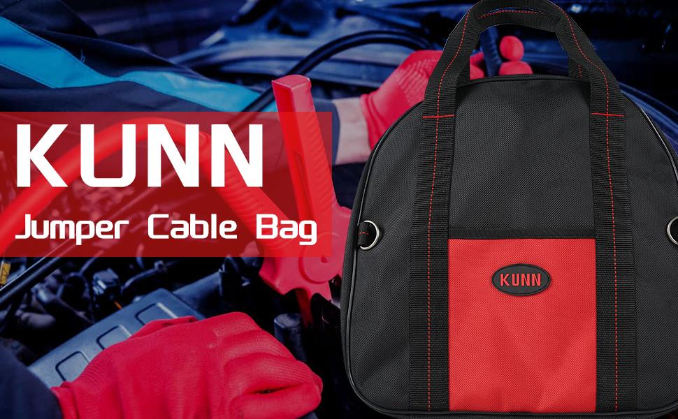KUNN Jumper Cable Bag More Storage Room