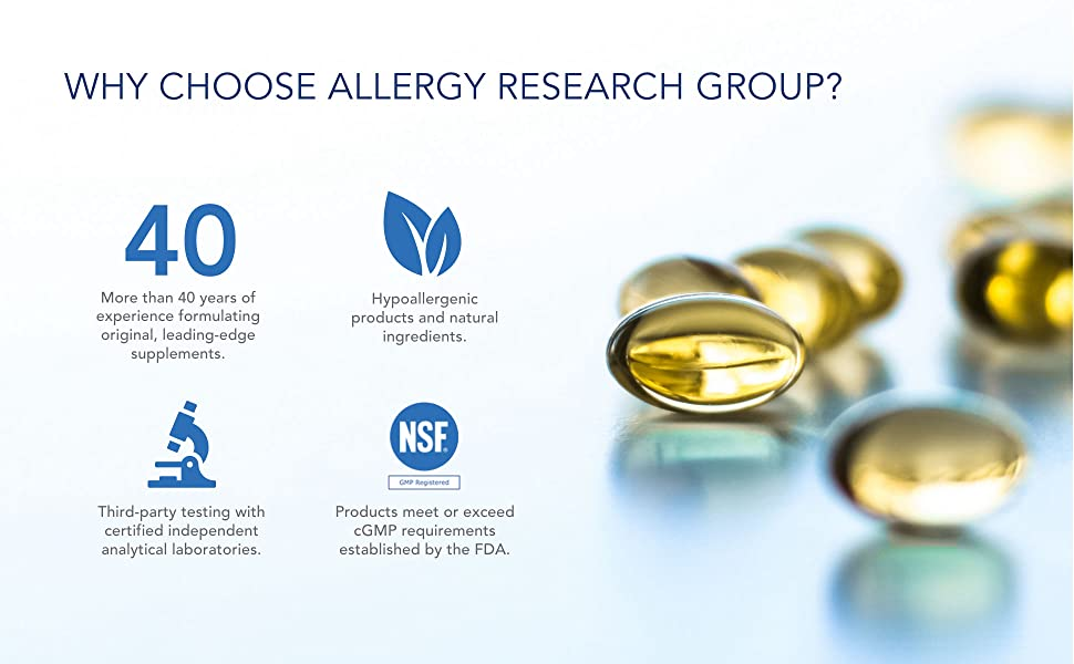Why Choose Allergy Research Group