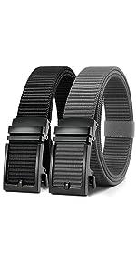 2 Pack Mens Casual Belt