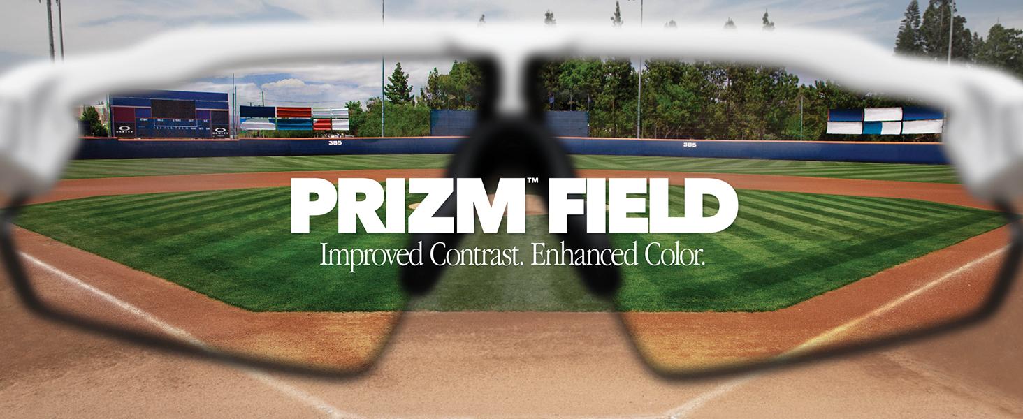 Prizm Field: Improved Contrast. Enhanced Color.