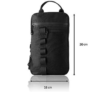 Sling bag shoulder bag packing cubes