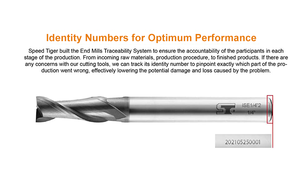 Speed Tiger end mill ISE- 2T 2 flute