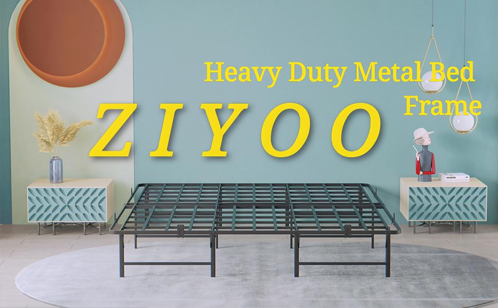 ZIYOO Heavy Duty Bed Frame