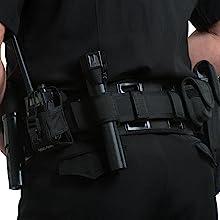 BackUpBrace Duty Belt Back Support In Use