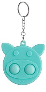 simple dimple pig blue