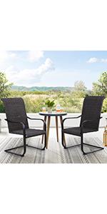 c spring rattan chair