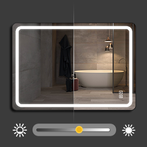led mirror for vanity bathroom
