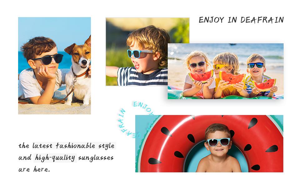 polarized kids sunglasses boys