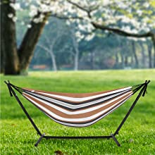 METAL HAMMOCK WITH STAND