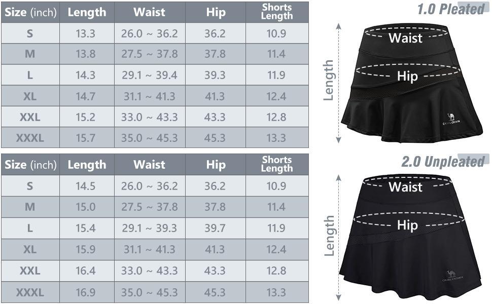 golf skirts for women