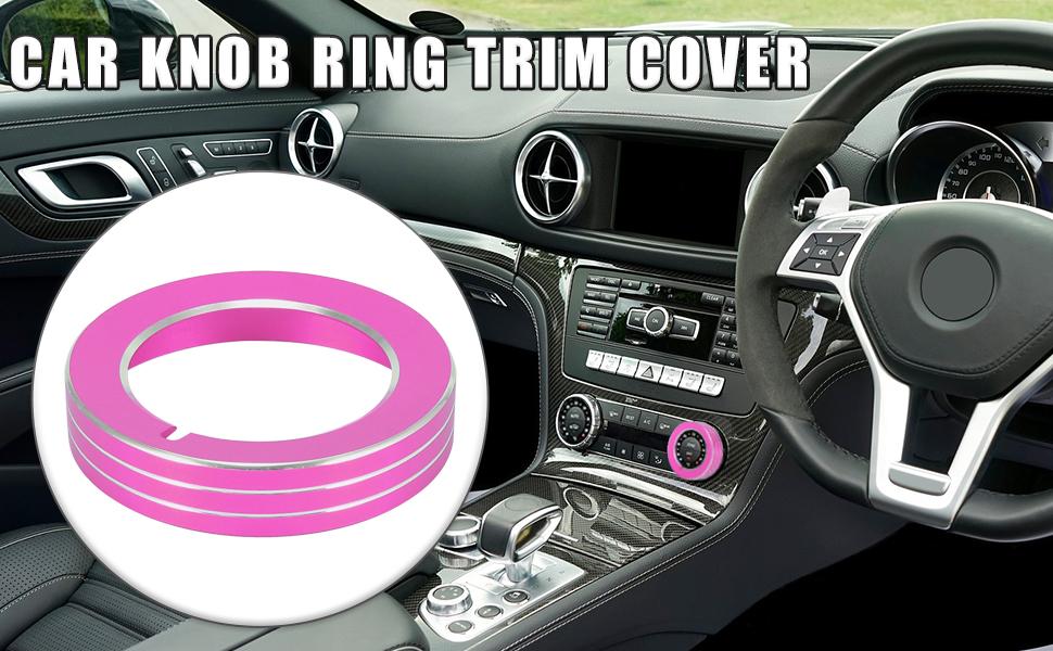 Car Knob Ring Trim Cover