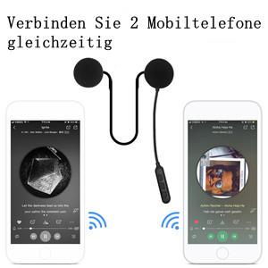 Ein Headset kann gleichzeitig mit 3 Mobiltelefonen verbunden werden, was bequem zu bedienen ist.