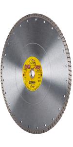 boss hog turbo diamond blade masonry concrete cutting 14 inch