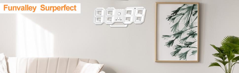 3D Digital Alarm Clock
