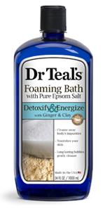 Dr Teal's Detox Foaming Bath