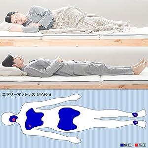 理想の寝姿勢を保てる