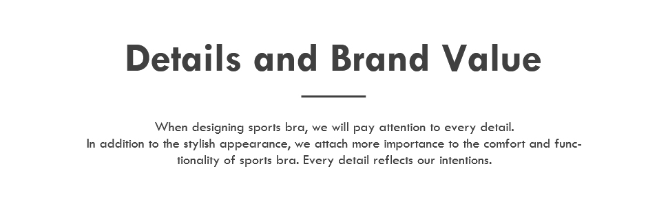 details and brand value
