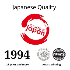 Award Winning, Invented and Made in Japan