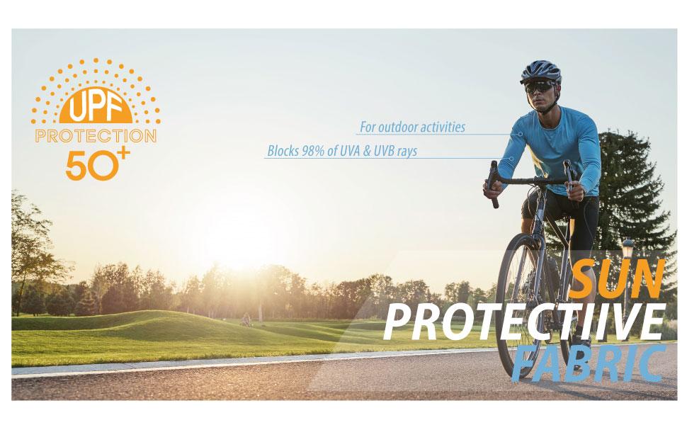 MEN'S UPF 50+ UV PROTECTIVE LONG SLEEVE SHIRT