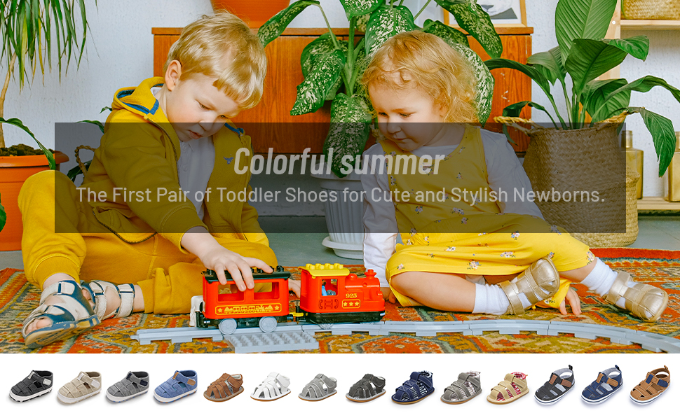 Colorful summer The First Pair of Toddler Shoes for Cute and Stylish Newborns baby boys summer shoes