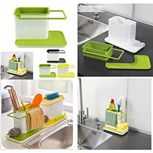 3 in 1 sink organiser