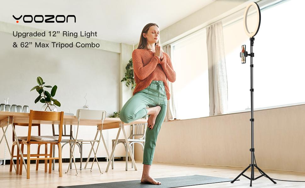 light ring with stand