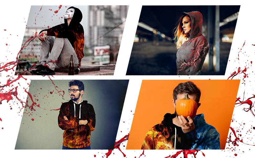 Blood Hoodies for Halloween