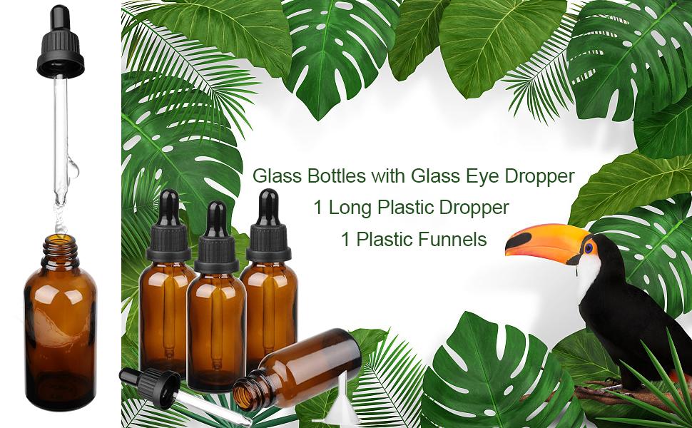 dropper bottle glass