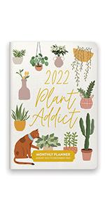 Plant Addict Monthly Pocket Planner 2022