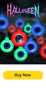 Halloween Multi-colors Eyeball string lights