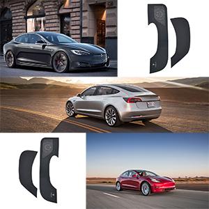 Anti-Kick pad matsDoor Protector Anti-Kick Mat for Tesla Model 3