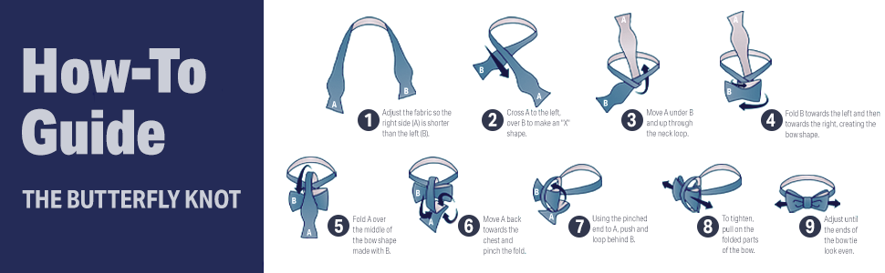 how to butterfly knot