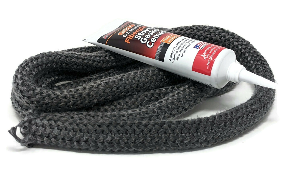 midwest hearth gasket kit with adhesive wood stoves