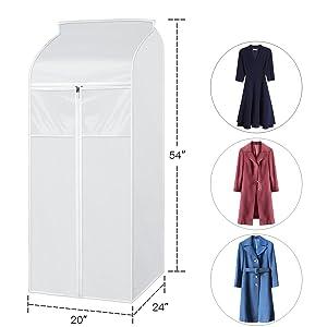 hanging closet cover