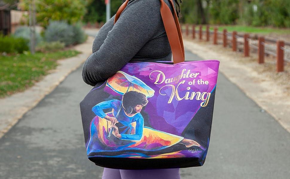 african american canvas handbag