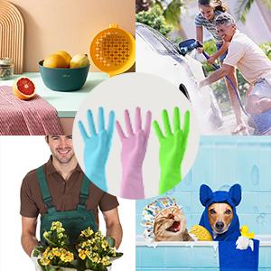 dishwashing gloves medium