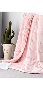sherpa weighted blanket