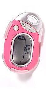 PE771 Pink Pedometer