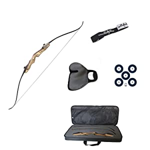 Southland Archery Supply Premier Bow Package with Finger, Tab Stringer, Foam Bow Case, Armguard