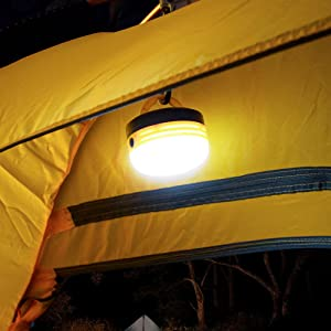 light for camping hanging