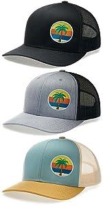 LARIX The Palm Trucker Hat